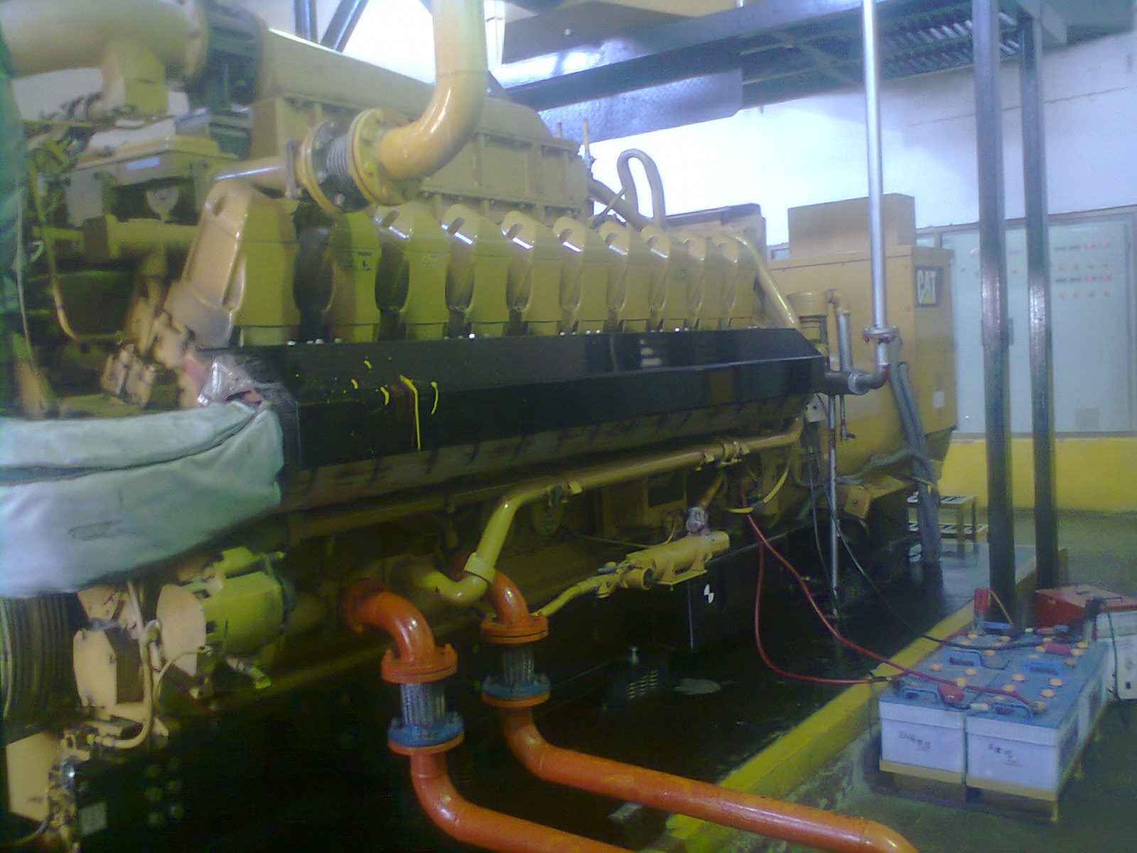 CATERPILLAR GAS GENERATOR CAT 3520C Hanif s Trading Co